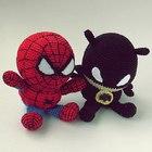 Человек паук и бетмен